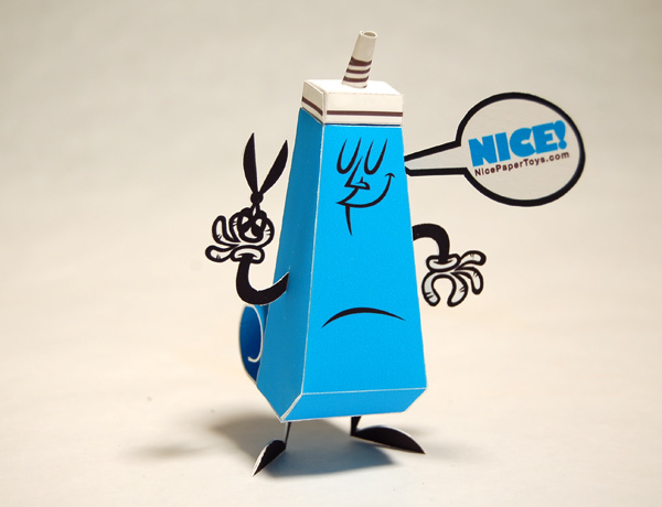 the nice paper toy • by tougui