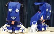 Tenacious Toys Street Dog papertoy