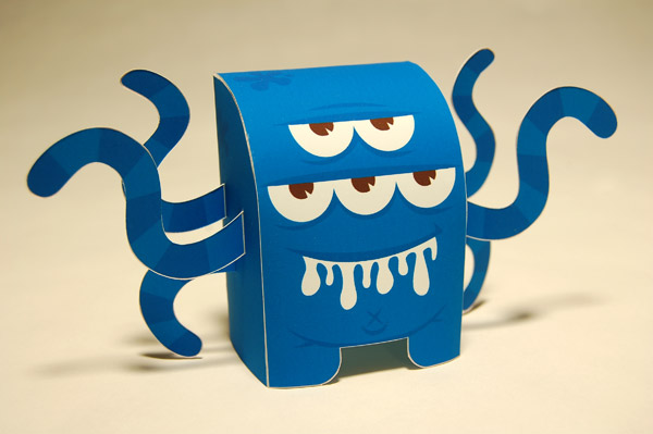 swamp monster (bleu) • by tougui x the dirty cream