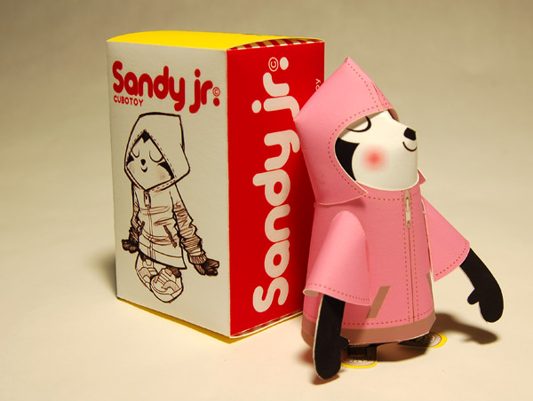 sandy jr. • by cubotoy