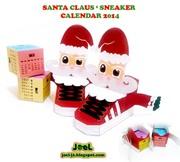 Santa Calendar 2014