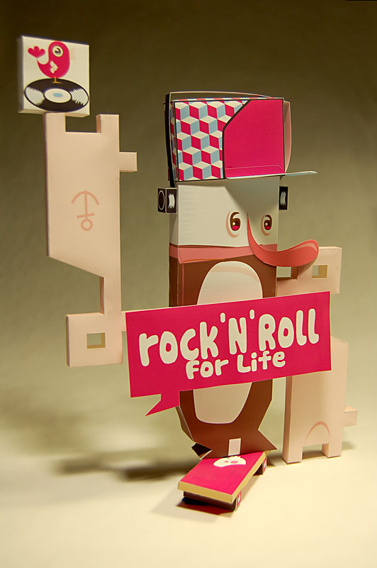 rock 'n' roll for life • by pascal brasebin