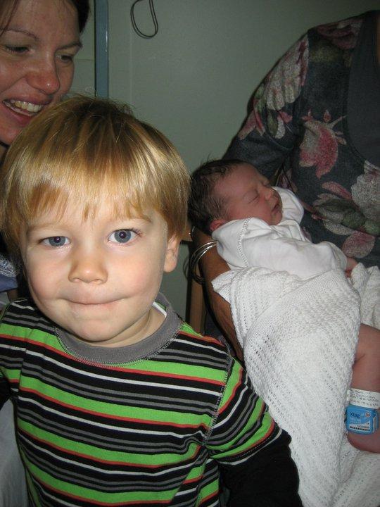 My very proud nephew, Ewan