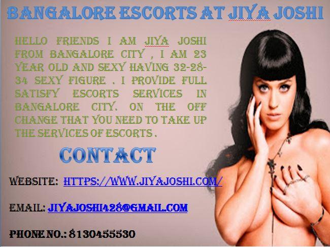 jiya joshi Bangalore escorts