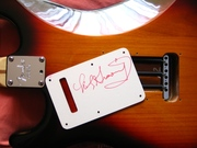 """Fender Strat signed by Nick """"the Greek"""" Gravenites"""