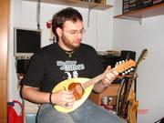 me with mandolin