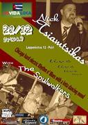 Nick Tsiamtsikas with the Soulwalkers live @ VIDA LOCO