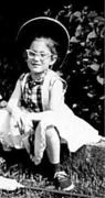 Leeny June 1958 Playing Cowgirl