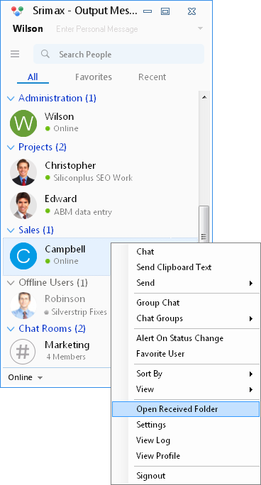 LAN Messenger for Internal Team Chat
