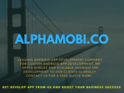 Android app development company  android mobile app developer's Pune India
