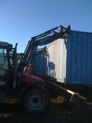 Container-fløtting