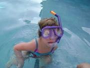 exploring the pool
