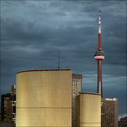 The CN Tower and City-Hall