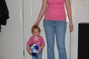My daughter, 2009, granddaughter