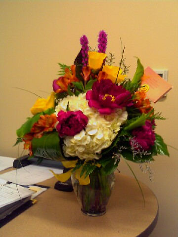Flowers for my Julie