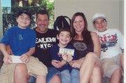 Nephew Richard Kremis and family.