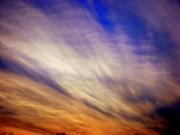 Strange clouds and skies!