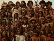 Various different Native American peoples