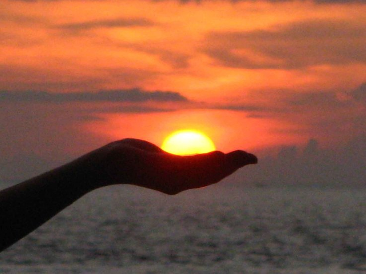 Sunset On My Hand Create In Me Dreams