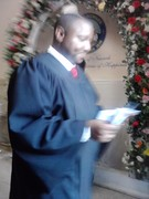The Judge performing the ceremony, December 14, 2011.