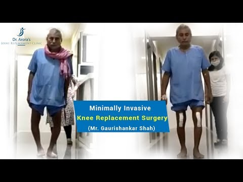 PAINLESS KNEE REPLACEMENT SURGERY | MIS KNEE REPLACEMENT SURGEON IN THANE | DR BAKUL ARORA