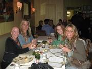 Laura,Lilou,Angela and Megan at Table 52!