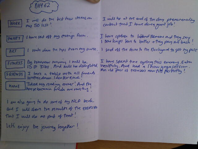 S2 Day 62 pg 1 - what I plan