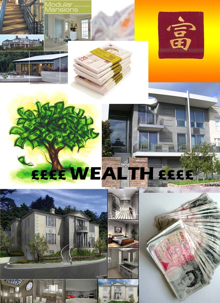 Vision Board - Wealth