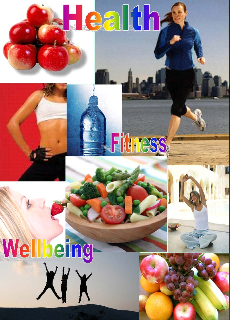 Vision Board - Healthy Lifestyle