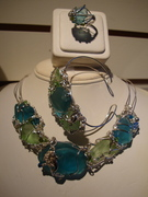 Signature Hawaiian Seaglass and Sterling ssilver