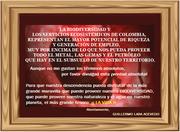 EL MÁS GRANDE TESORO - LA BIODIVERSIDAD Y LOS SERVICIOS ECOSISTÉMICOS - EL AGUA