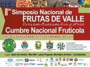 2do Simposio Nacional frutícola