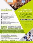Seminario del CANNABIS en Bogotá 30 de septiembre de 2017