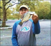 9 inch Crappie 10-4-10