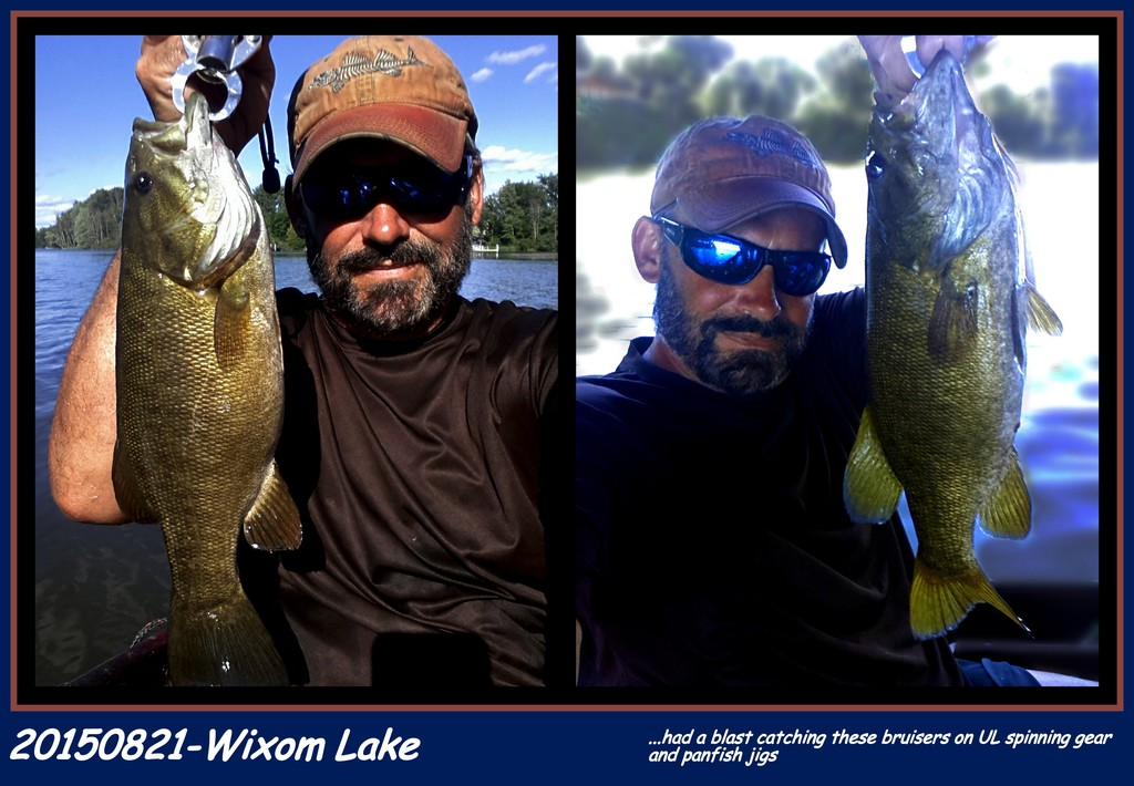 20150821-Wixom Lake~ Big Fish Day w/SMB