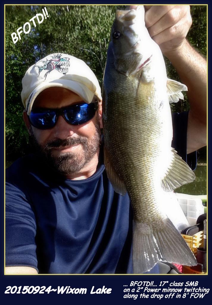 "20150923-Wixom Lake ~ BFOTD!! SMB 17"" class"