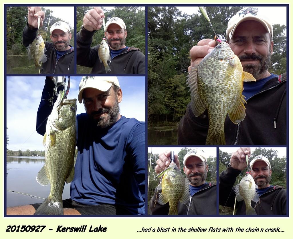 20150927-Kerswill Lake ~ Fishing the Bait Dropper Chain 'n Crank