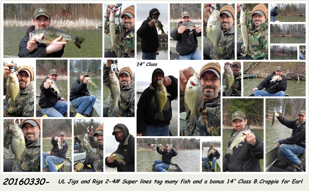 20160330 - Cold Water Outing 46 degs Less than 6 FOW