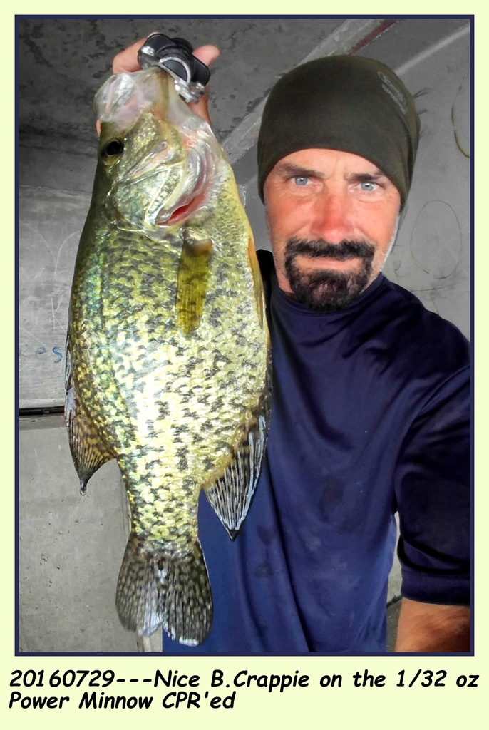 "20160729---BEST B.CRAPPIE OF THE DAY AT 13"" CLASS"