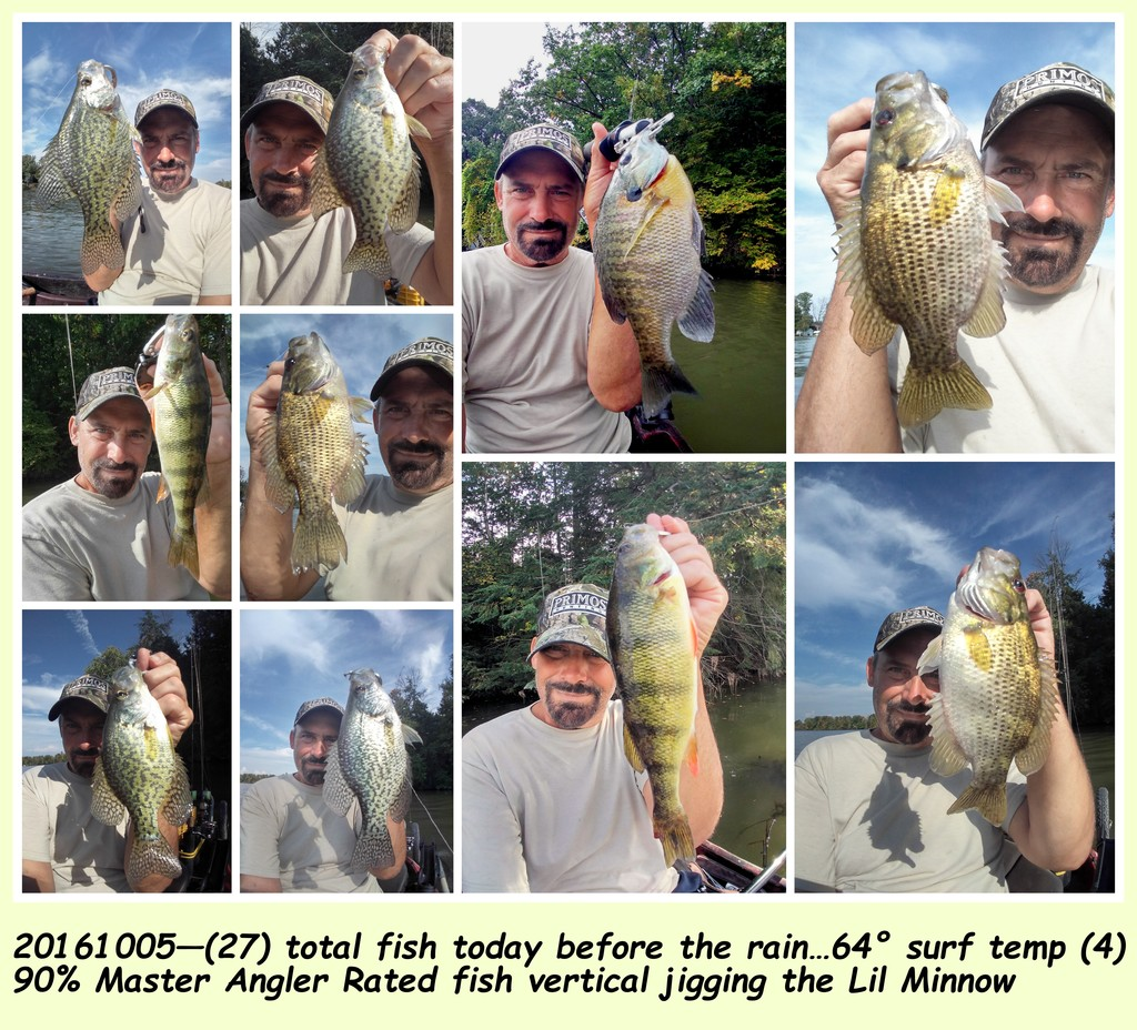 20161005—Vertical Jigging the tiny baits are getting the big fish