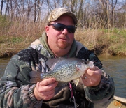 ANDY AND ONE OF THE NICER CRAPPIES TODAY