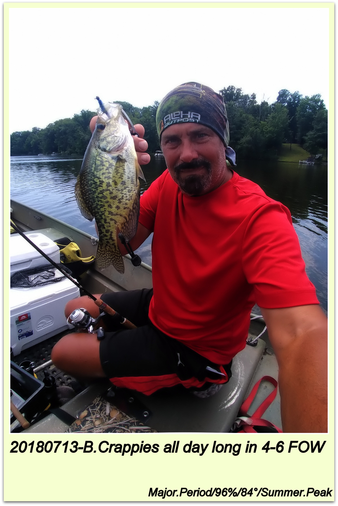 20180713-B.Crappies all day long in 4-6 FOW