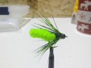 Chartreuse Mop Fly