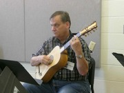 Bill Long plays Calvi