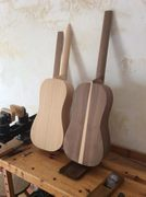 Catalan guitars in progress
