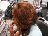 long layers, color and wrap