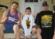 Me my Dad and brother with our new Robby Stash