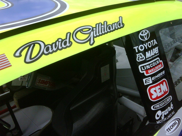 2009 Kansas David Gilliland