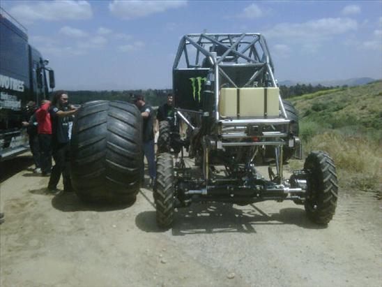 2010 Monster Jam Truck Test