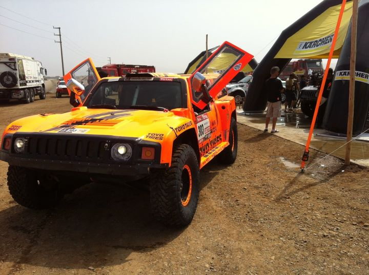 2012 Dakar Stage 14 WINNER